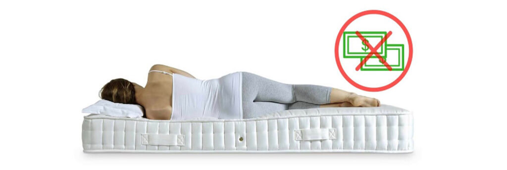 Fixing the sagging mattress helps you save an amount of money