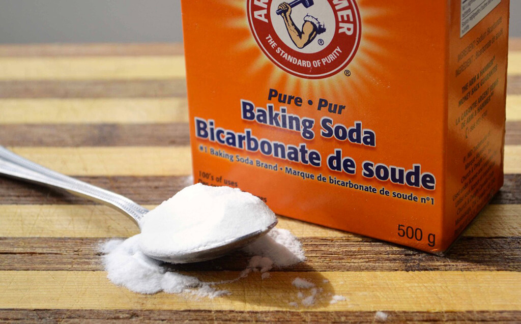 The baking soda