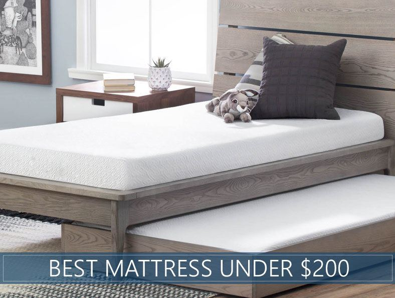 6 Best Mattresses Under 200 How To Choose In 2020